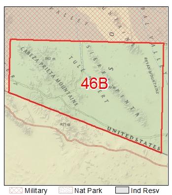 Game Management Unit 46b Map